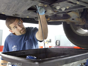 how to change oil on car How to change your transmission oil if your transmission isn't shifting like it used to, it may be time to change the fluid it should be changed at most every , along with the filter, and gasket.